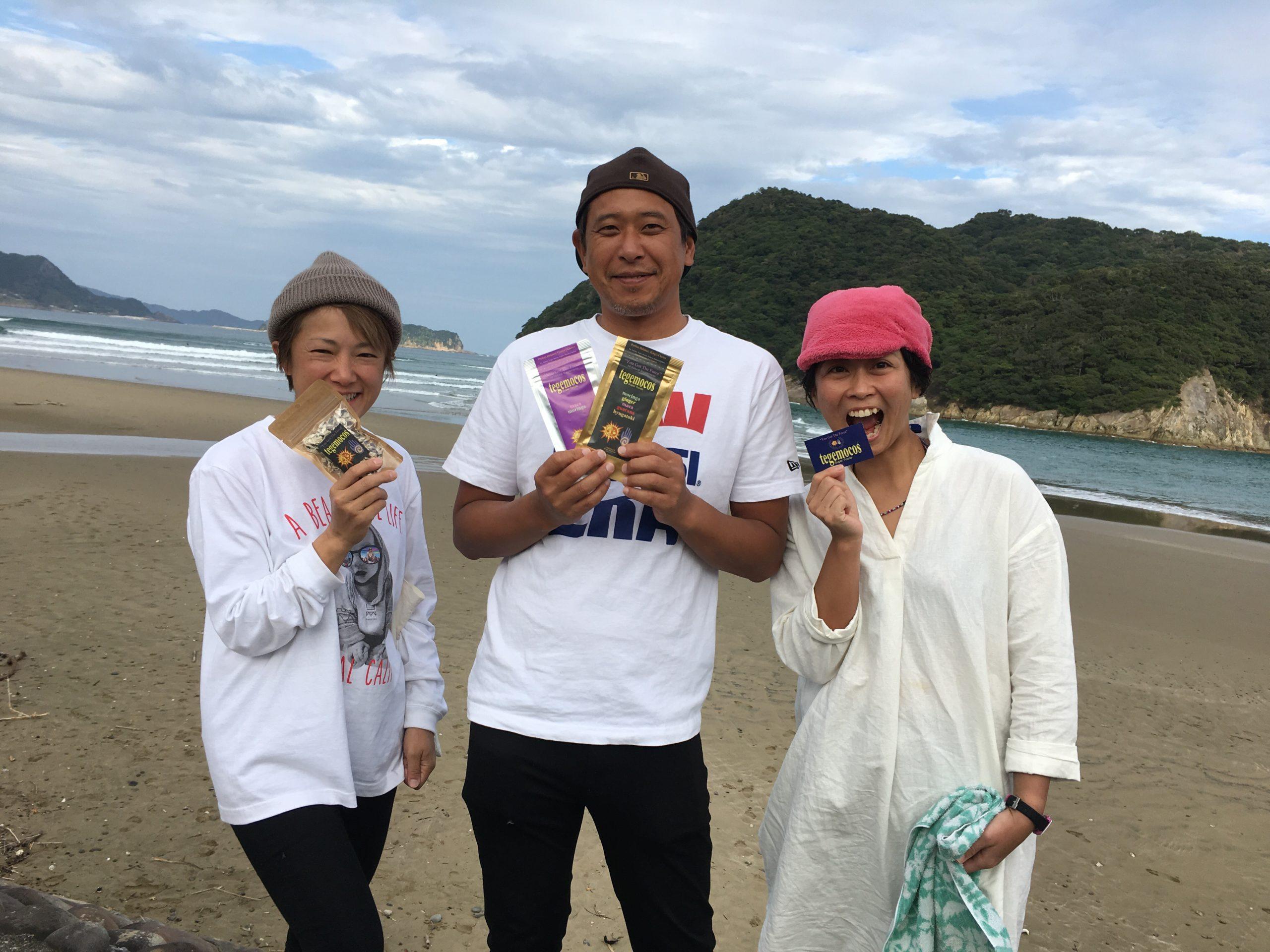 串間サーフィン連盟代表『水元公志』プロ
